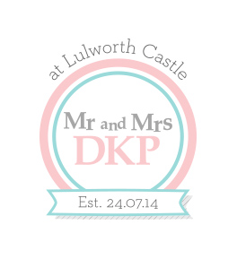DKP Wedding Logo Design