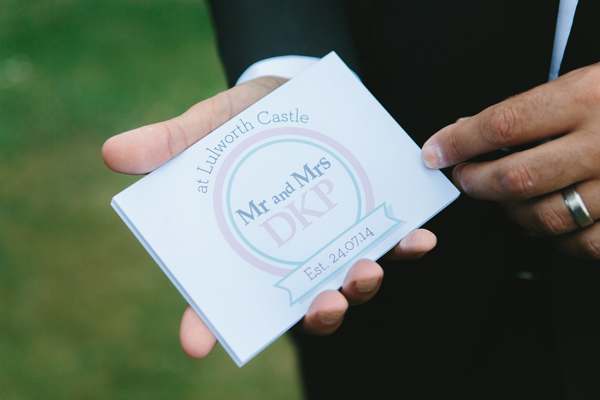 DKP Wedding Logo Card Design