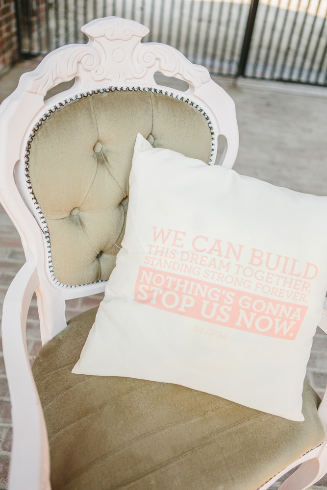 DKP Wedding Cushion Stop Us