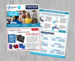 Diabetes NSW Product Catalogue Design Covers