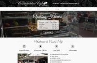 Website Design – Cosmopolitan Cafe
