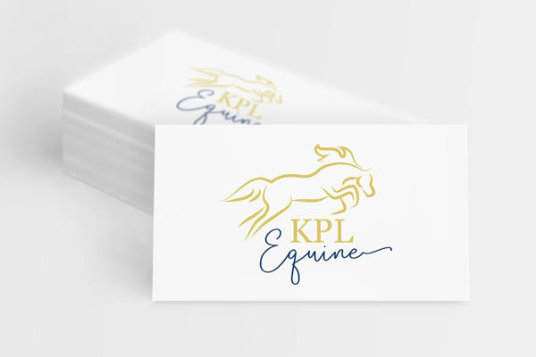 KPL Equine Graphic Design Logo