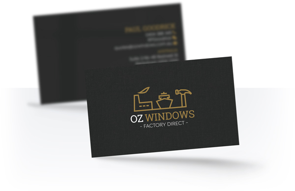 Oz Windows Business Card
