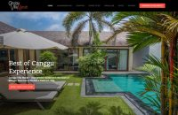 Website Design – Canggu Villa Merah